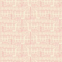 Half yard Little Town Glee fabric Emmy Grace by Bari J for Art Gallery great shop for low volume fabrics