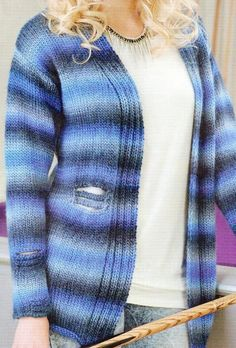 10 Gorgeous (and Free) Knitting Patterns for Women's Cardigans | Knitting Women