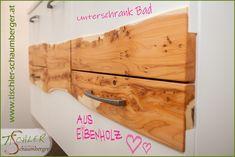 Badezimmer Unterschrank aus Eibenholz Bathing
