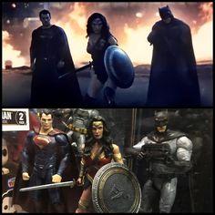 The Trio #Batman #Thedarkknight #timburton #1989 #michaelkeaton #jacknicholson #batmobile #gotham #gothamcity #dccomics #brucewayne #batmanbegins #thedarkknightrises #batmanvsuperman #batmanvsupermandawnofjustice #benaffleck #galgadot #henrycavill #mattel #batproblems #superman #wonderwoman #justiceleague by battoysfanatic