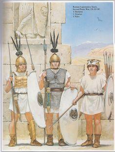 Roman Legionnaires from Hispania 2nd Punic War.