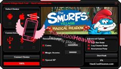 Do you want to get a Smurfs Village and the Magical Meadow Hack Cheats Tool that will realey work for you ? I think that you would say yes! So get it right now from here http://hacktoolheaven.com/smurfs-village-and-the-magical-meadow-hack-trick-cheats.html don't miss this great chance guys and generate free coins, magic acorns and more.