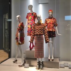 """ZARA, Square One Shopping Centre, Mississauga, Ontario, Canada, """"Retro chic for Spring occasions with Print and Pattern"""", photo by Heather Logan, pinned by Ton van der Veer"""