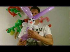 Ballon Hase Osterhase, balloon rabbit easter bunny, Modellierballon Ballonfiguren Animals Tiere