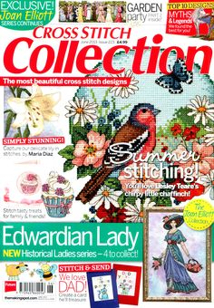 Cross Stitch Collection Issue 223 Patterns pinned
