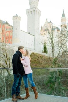 Obsessed with this fairytale proposal in Germany!