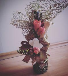#wino#frezja#przybranie_na_prezent Grapevine Wreath, Grape Vines, Wreaths, Home Decor, Homemade Home Decor, Door Wreaths, Vineyard Vines, Deco Mesh Wreaths, Interior Design