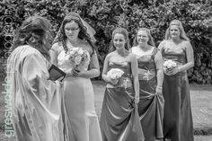 Bride and bridesmaids outside church before the wedding Brides And Bridesmaids, Bridesmaid Dresses, Wedding Dresses, Weston Park, Wedding Photography, Fashion, Bridesmade Dresses, Bride Dresses, Moda