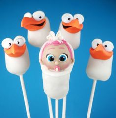 Storks Cake Pops | Bakerella | Bloglovin'