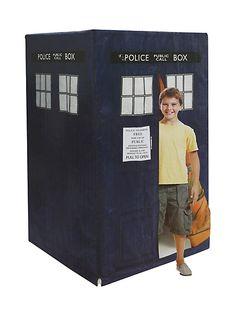 Doctor Who Step-In TARDIS Indoor Outdoor Tent | Hot Topic