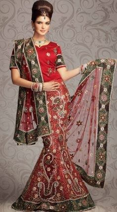 Indian Bridal Lehenga Dress