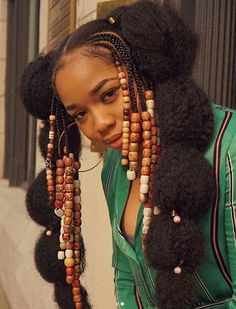10 Go Big or Go Home Natural Hairstyles for Summer CurlyNikki Natural Hair Care Black Girls Hairstyles, African Hairstyles, Summer Hairstyles, Braided Hairstyles, Cool Hairstyles, Hairstyle Hacks, Hairstyles For Natural Hair, Braided Mohawk, Hairstyles Videos