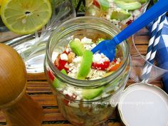 Picnic Orzo Salad Recipe @My Colombian Recipes