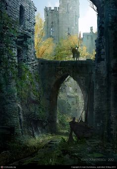 sword and shield by Ioan Dumitrescu | 2D | CGSociety