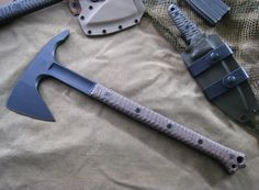 Miller Bros. Blades Tomahawk / Axe Custom Knife. Custom Handmade Swords, Knives & Tomahawks/Axes www.millerbrosblades.com