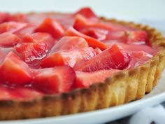 Strawberry Strawberry Pie from THE REALLY GOOD FOOD COOK BOOK