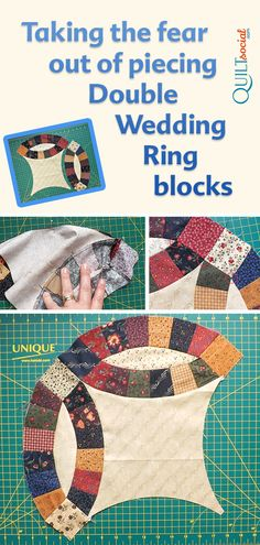 83 Best Double Wedding Ring Quilt Images In 2020 Wedding Ring