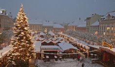 Christmas Market in Klagenfurt am Wörhtersee: the perfect place to end a day of Christmas shopping. Photo: G. Klagenfurt, Christmas Shopping, Perfect Place, Christmas Tree, Country, Holiday Decor, Places, Fun, Travel