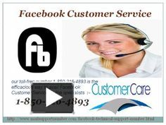 Visit the following points to avail our Facebook Customer Service:  Our technicians are highly qualified and certified.  They will resolve your issues for sure.  24/7, and 365 days availability. So, for this make a call on our toll-free number 1-850-316-4893. http://www.mailsupportnumber.com/facebook-technical-support-number.html