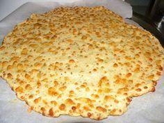 Low Carb Gluten Free Almond flour pizza crust