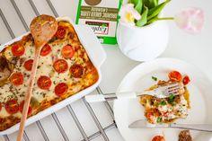 Jätti menestys ruokapöydässä gluteeniton lasagne resepti toimii myös normaaliin herkkuun