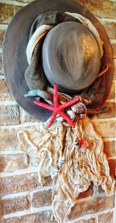Neutral, Burlap Crafts, Decoupage, Air Dry Clay, Ceramic Pottery, Doilies, Sea Shells, Wedding Decor, Wall Decor