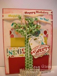 Cycle celebration - Stampin Up