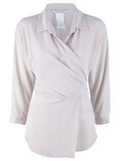 MAX MARA - Gail blouse -- fake a great waist.