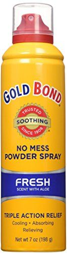 Gold Bond No Mess Powder Spray Fresh Scent With Aloe -- You can find more details by visiting the image link.
