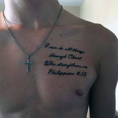 74 Best Scripture Bible Verse Tattoos For Men Images In 2019