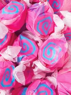 Pink and Blue Candy