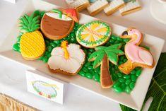 Hawaiian Luau Guest Dessert Feature Luau Dessert Table