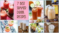7 Best Summer Drink Recipes | FaveHealthyRecipes.com