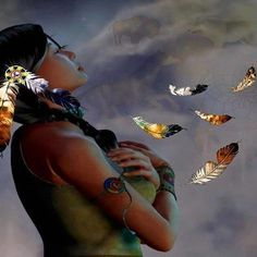 ~ When Woman enters into her Heart she becomes a Conscious Conduit of the Great Spirit. ♥