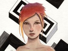 Image of Acrylic sketch 2