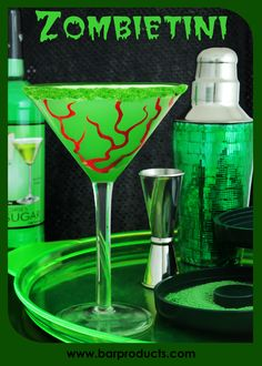 Guests will love this festively creepy drink and your waistline will thank you too!