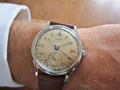 #Tissot Pointer #Date manual – #1953 #wristshot #wristshot #vintage #forsale #tobuy