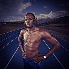 Usain Bolt Photo Shoots in Jamaica