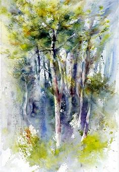 Claudie Capdeville2 #watercolorarts