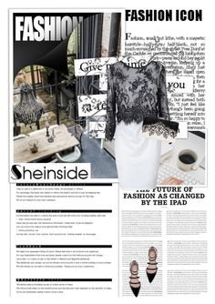 """Sheinside 7"" by emina-turic ❤ liked on Polyvore featuring мода, Arche и Zara"