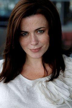 Eve Myles. I wanted a picture of her as Gwen Cooper from Torchwood, but they Photoshop her freckles out.