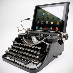 #USB Typewriter http://fancy.to/b1qrus #luxury #fancy #techie #apple #mobile #decor #home #gifts
