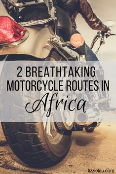 Two breathtaking motorcycle routes in Africa. Activities For Adults, We Are The World, African Safari, Ultimate Travel, Africa Travel, Wanderlust Travel, Adventure Travel, South Africa, Travel Inspiration