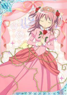 Mobage 〖 Puella Magi Madoka Magica Mahou Shoujo Maho Shojo Madoka Kaname Sleeping Beauty fairy tales pretty 〗