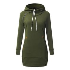 fdc545f2e96 This drawstring hooded dress is brand new to Brielle   Co! It might be a