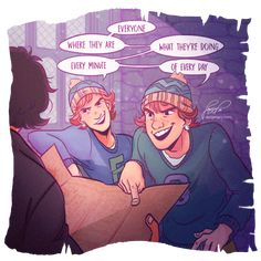 Fred and George by dangerjazz