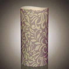 LED Kerze - Neues zeitloses Motiv Timeless Elegance-L von myei - Alles was mir gefällt (H: 20,3 cm - ø: 10,1 cm).