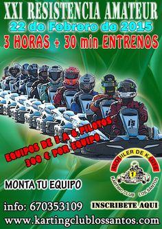 Comienza la temporada 2015 de resistencias en Karting Club Los Santos. No pierdas la oportunidad de acudir a las 24 Horas de Paris en 2016.