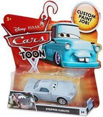 Disney / Pixar CARS TOON 155 Die Cast Car Stripped Kabuto by Mattel. $26.00. For Ages 3 & Up. Disney Pixar Cars Toon Collection 1:55 scale die cast car from Mattel. 2010 DISNEY PIXAR MOVIE CARS TOON SERIES STRIPPED KABUTO #34.