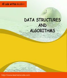 Data Structure and Algorithms Book